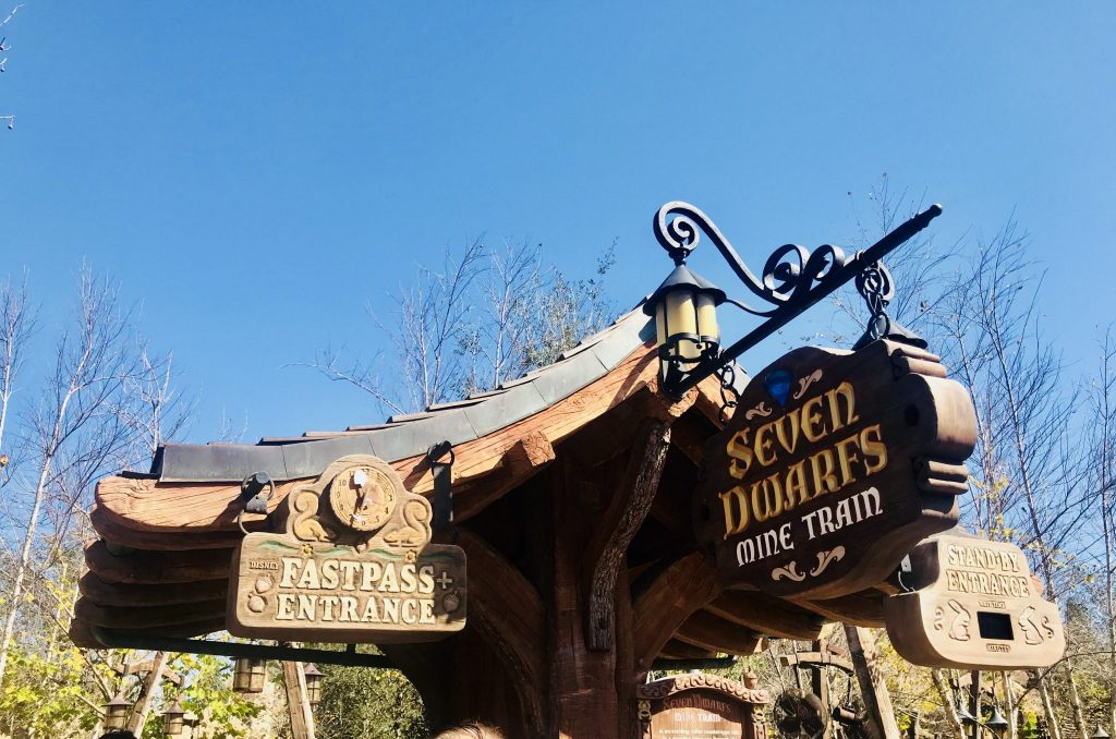 Fastpass and Standby line at Seven Dwarfs Mine Train Touring Plan