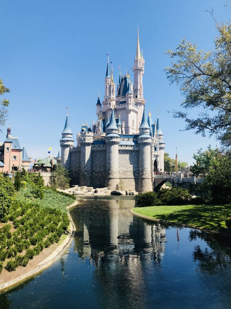 Cinderella Castle at Magic Kingdom - Disney World Refurbishments