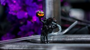 Headless Horseman straw at Disney's Villains After Hours