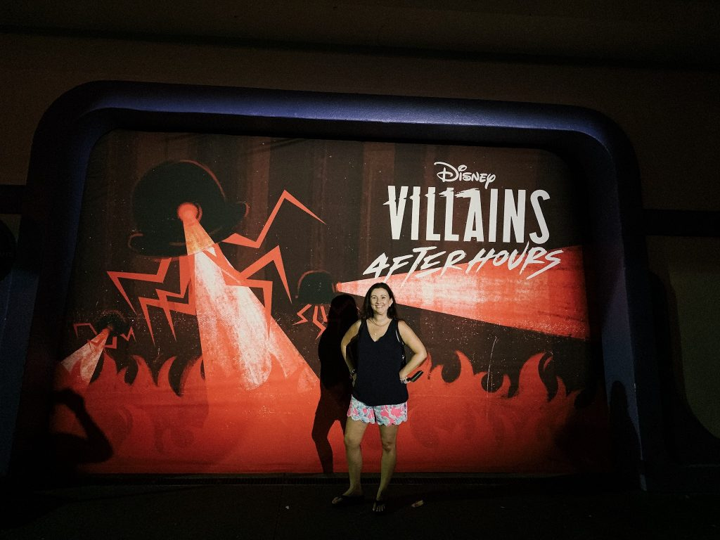 Disney's Villains After Hours at Magic Kingdom photo wall
