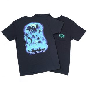 Disney's Villains After Hours exclusive shirt