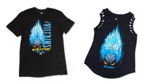 Disney's Villains After Hours exclusive tshirts
