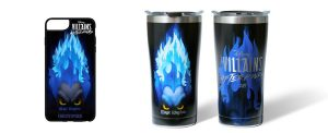 Disney's Villains After Hours exclusive mug and cell phone case