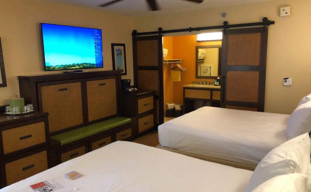 Disneys Caribbean Beach Resort rooms