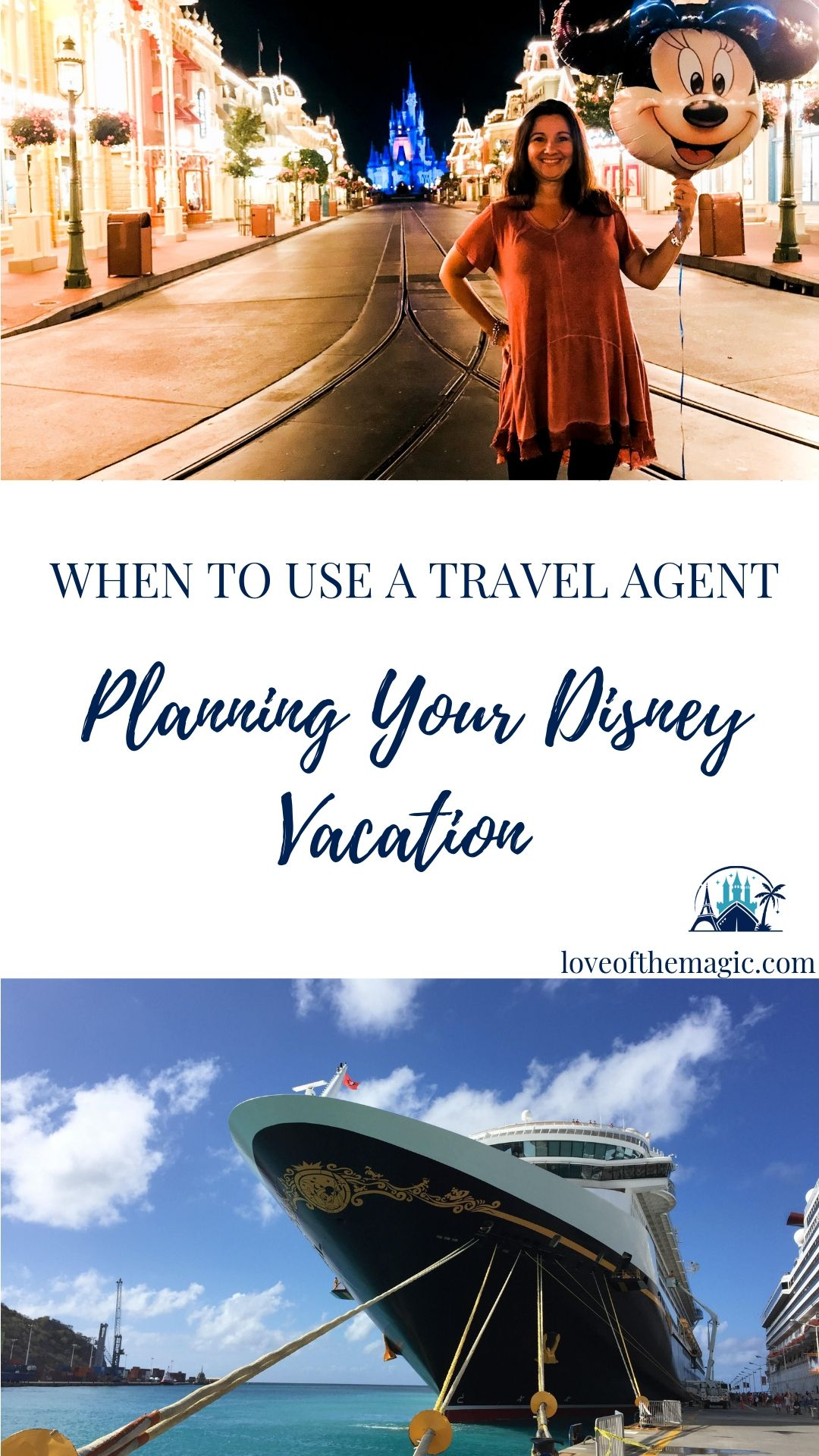 When To Use a Travel Agent Planning Your Disney Vacation