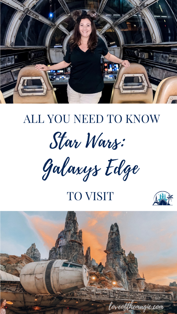 Star Wars Galaxys Edge pin