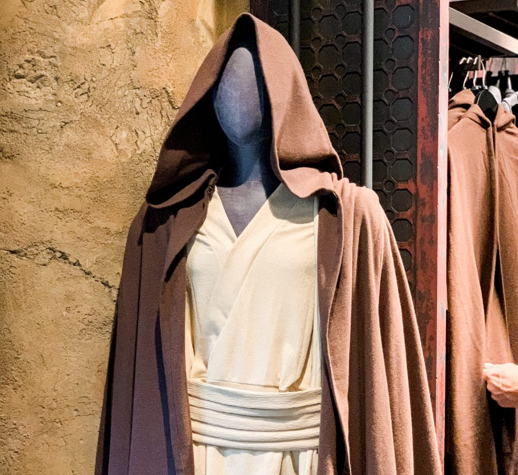 Star Wars costumes at the Black Spire Outfitters Galaxys Edge