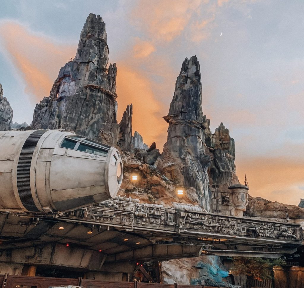 Millenium Falcon Smugglers Run at Star Wars Galaxys Edge