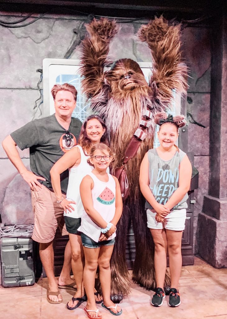 Meet Chewbaca outside Star Wars Land at the Star Wars Launch Bay