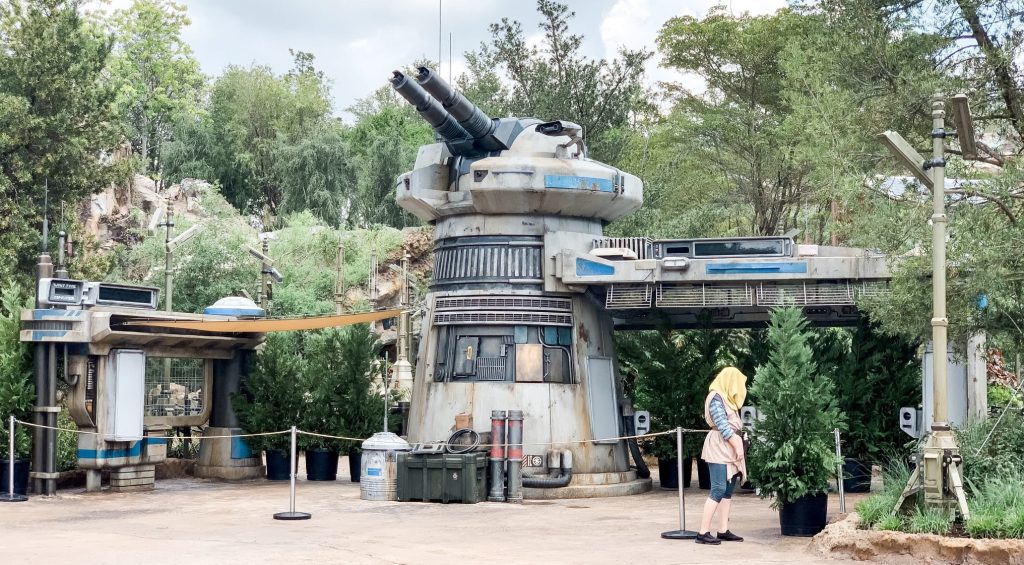Star Wars Land Rise of the Resistance ride