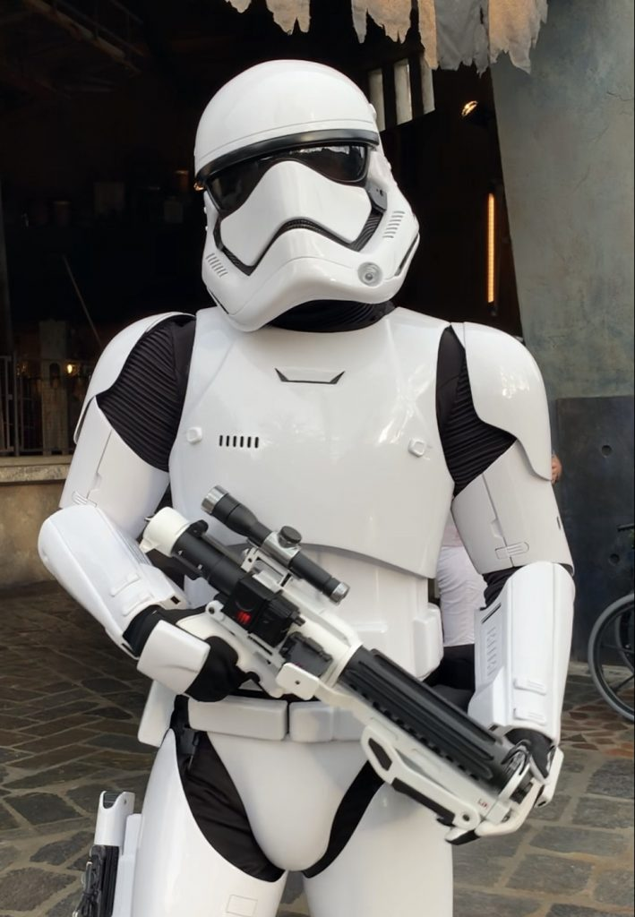 Storm Trooper in Star Wars Galaxys Edge