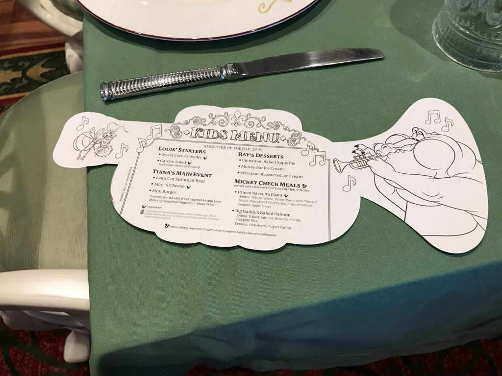 what to eat at Pirates Night themed dinners on Disney Cruise Line