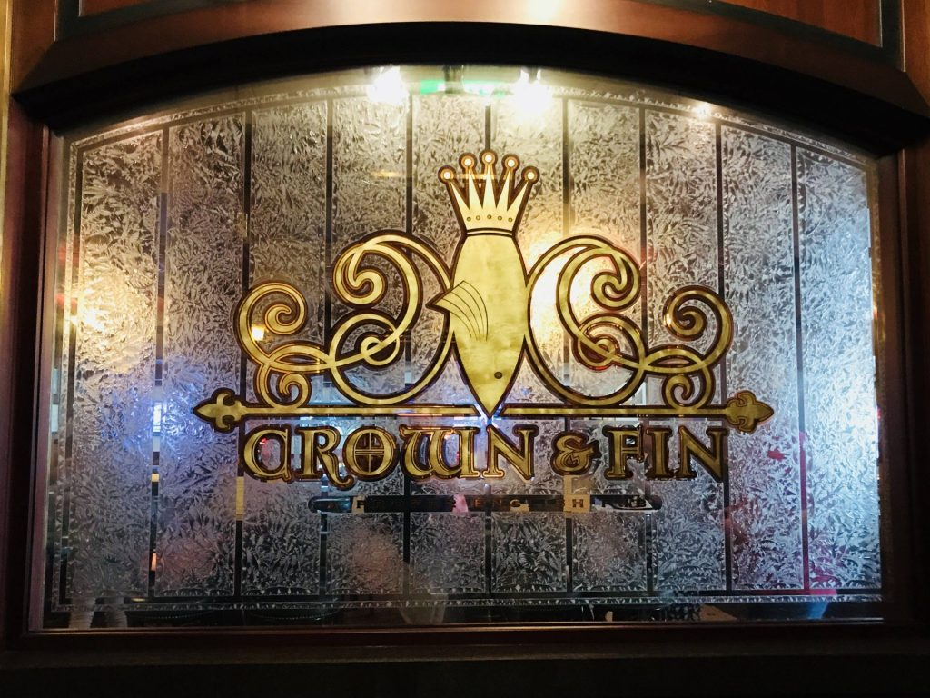 Crown & Fin Pub on Disney Cruise Line