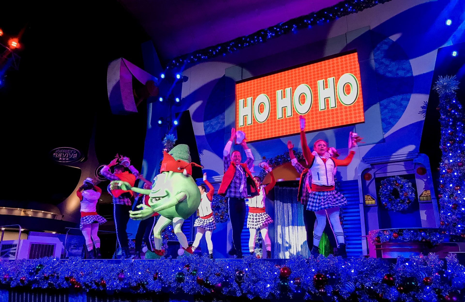 A Totally Tomorrowland Christmas featuring Stitch at Magic Kingdom Mickey's Very Merry Christmas Party