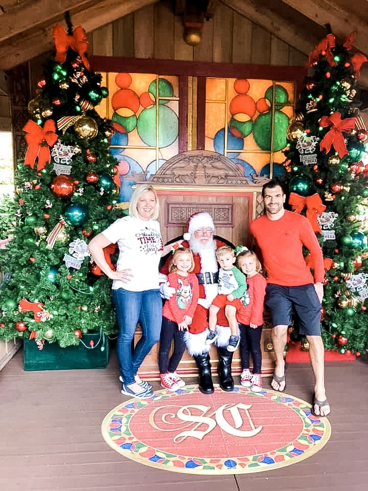 See Santa with a Fast Pass at Disney Springs at Disney World