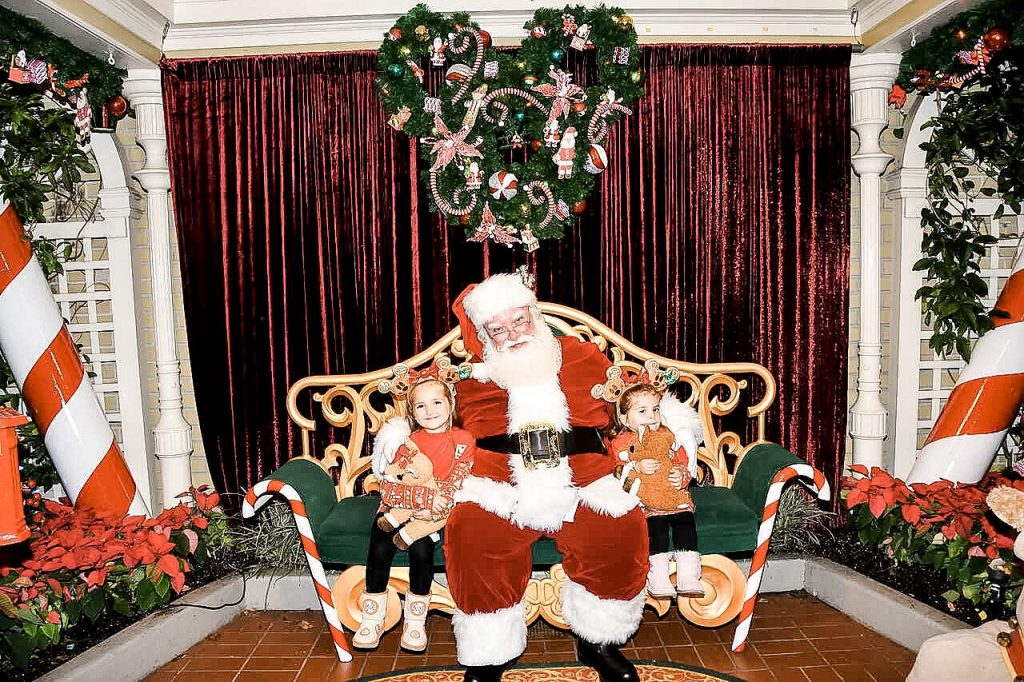 Where to meet Santa at Magic Kingdom