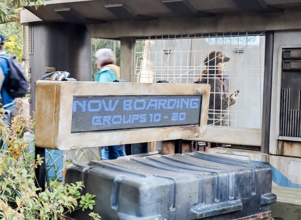 Now Boarding Sign for Rise of the Resistance Boarding Groups