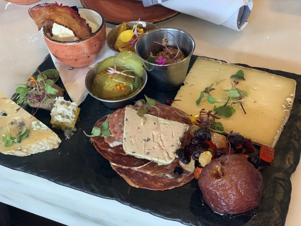 Charcuterie Board Strong Water Tavern Sapphire Falls Resort