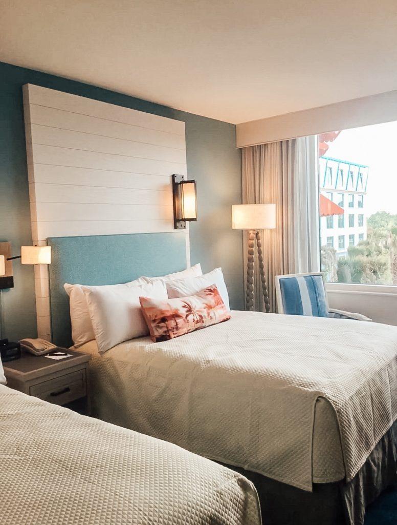 Sapphire Falls Resort room at Universal Studios Orlando