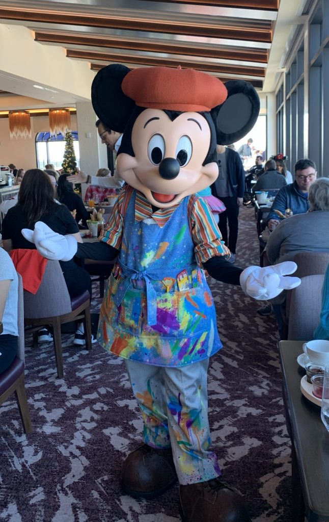 Mickey at Disneys Topolino Resort