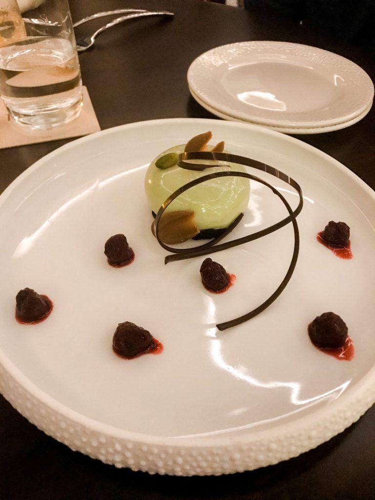 Gluten Free dessert at Topolino's Terrace
