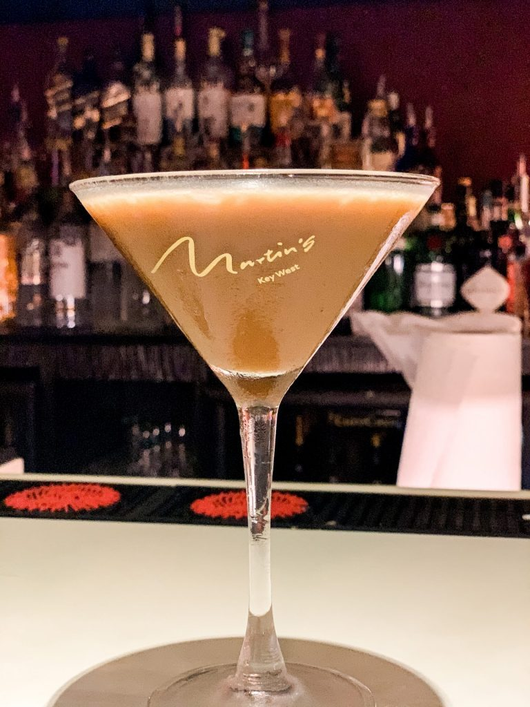 Chocolate Martini at Martins in Key West Florida Duval Street