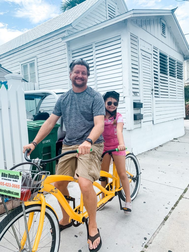 Renting and riding bikes in Key West