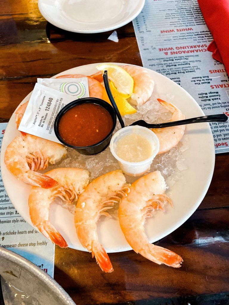 Peel and eat shrimp at Conch Republic Key West