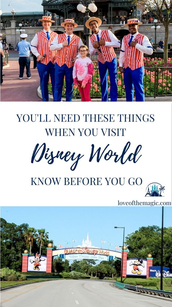 Must have items for your Disney World Vacation