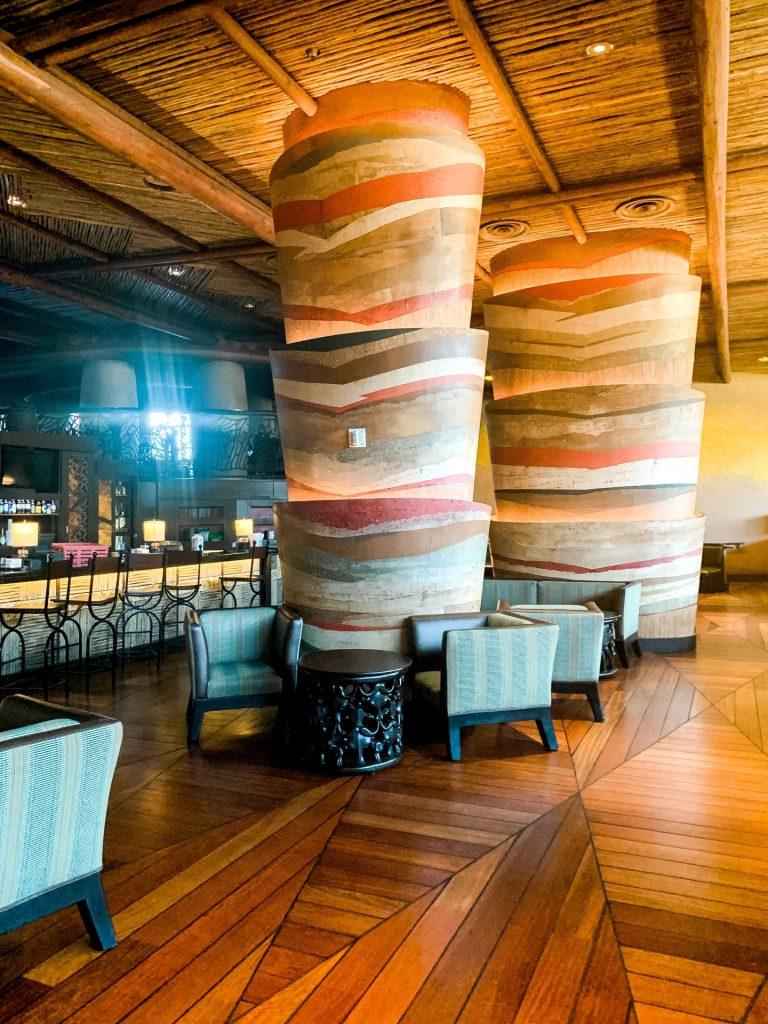 Victoria Falls Lounge at Disney's Animal Kingdom Lodge
