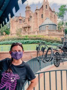 Haunted Mansion face mask