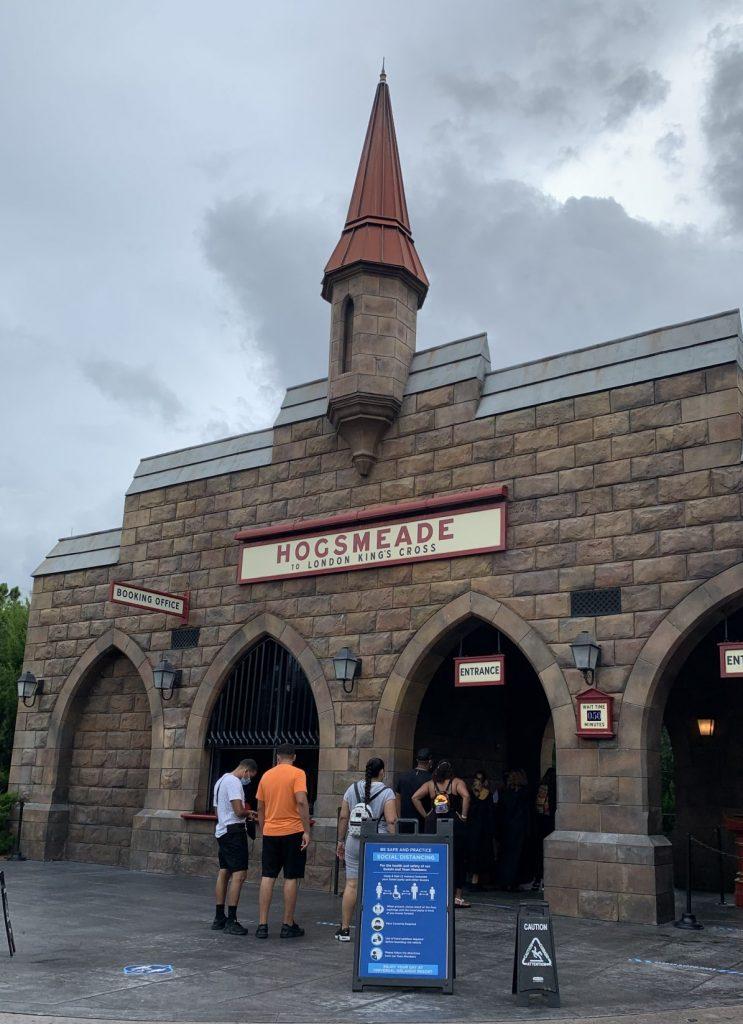 Universal Studios Touring Plan Hogwarts Express via Hogsmeade