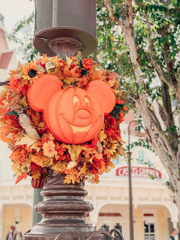Disney Boo Bash After Hours event decorations