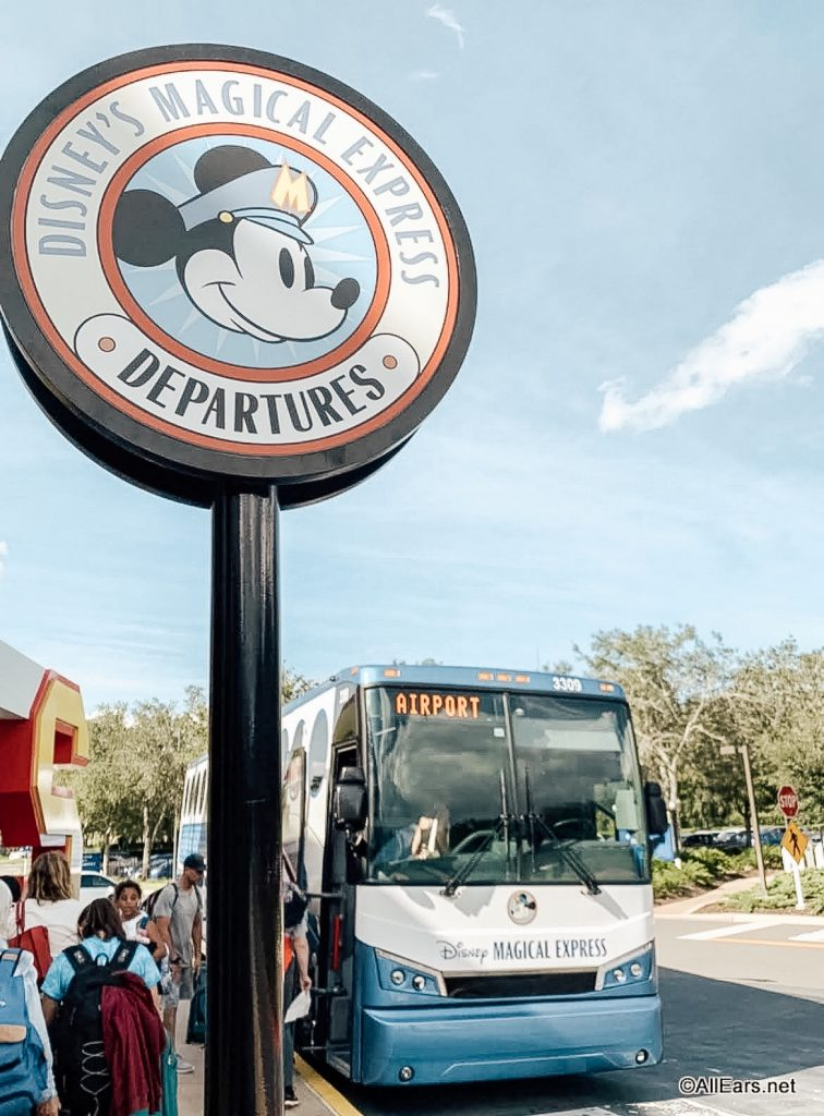 Disney World Magical Express Airport transfers Orlando