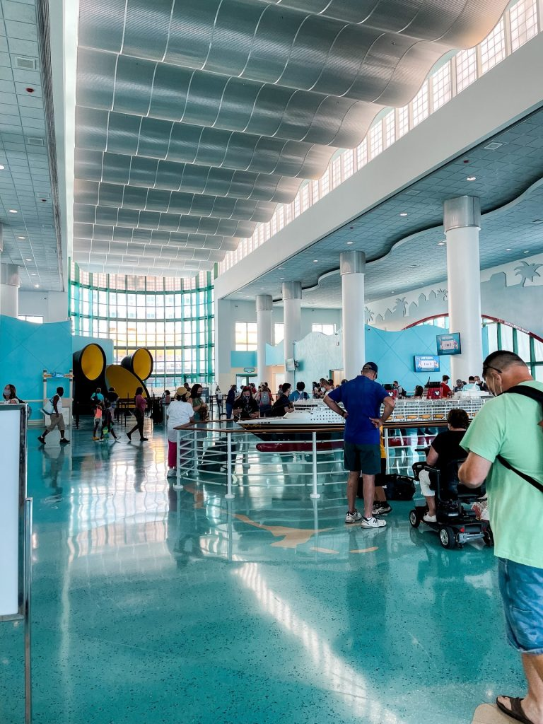 DIsney Cruise Line terminal at Port Canaveral