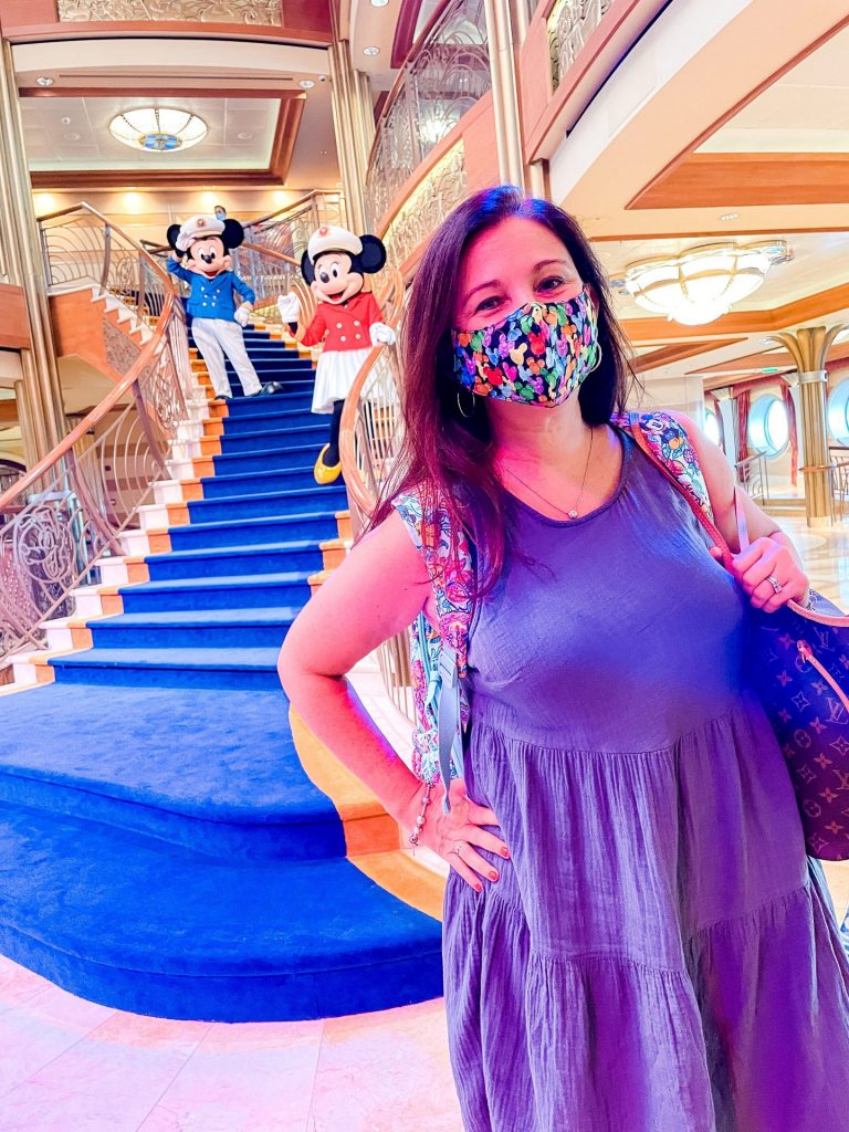 Disney Cruise Line Dream character welcome show