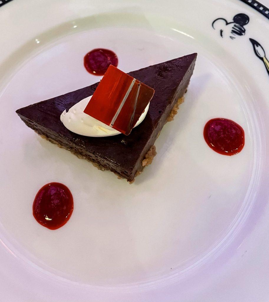 DIsney Cruise Line gluten free dessert Animator's Palate