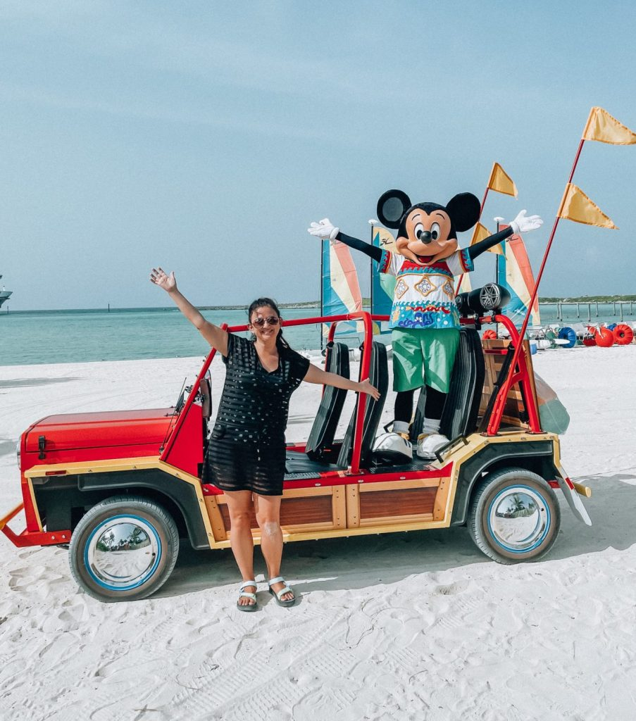 Castaway Cay Disney Cruise Line Mickey character picture