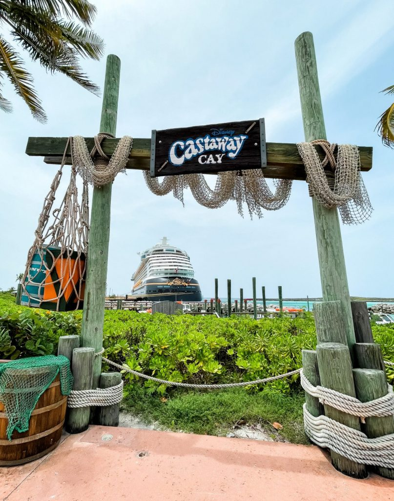 Castaway Cay DIsney Cruise Line private island