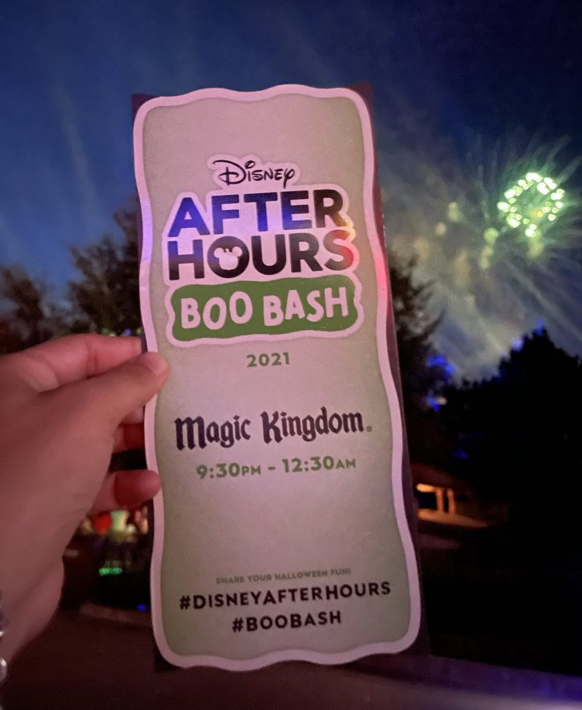 After Hours Boo Bash map