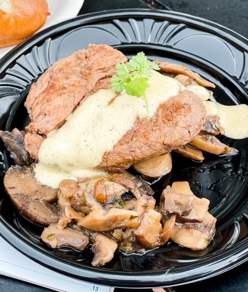 """Le Cellier"" Wild Mushroom Beef Filet Mignon Epcot International Food & Wine Festival"